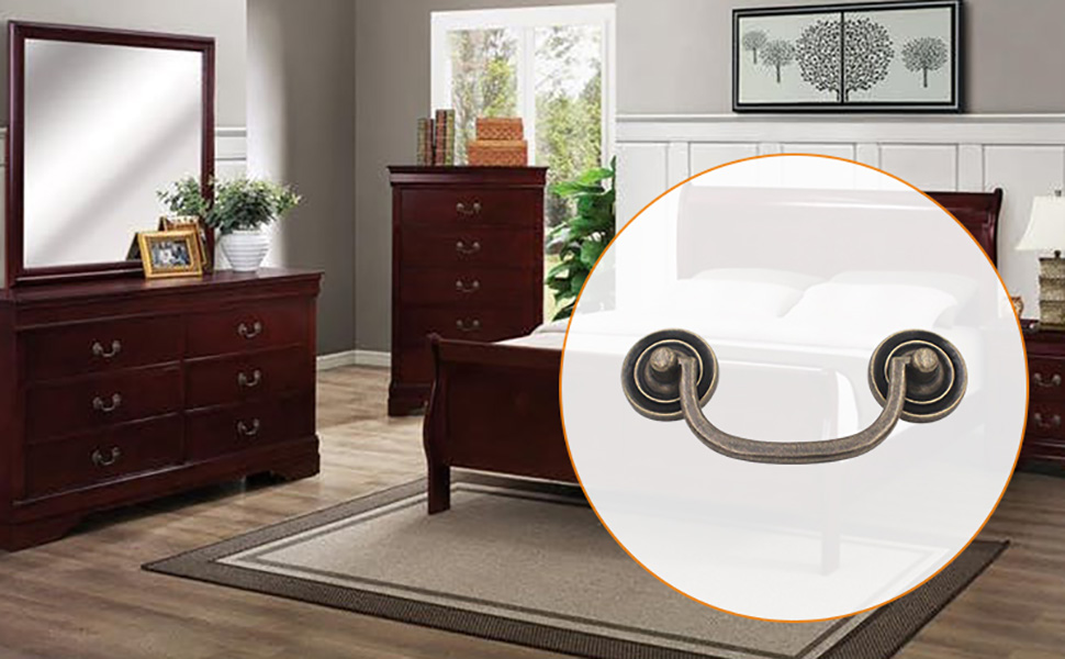 Hoone -Find Metal Drawer Handles Antique brass handle From Kaiyi Furniture-3