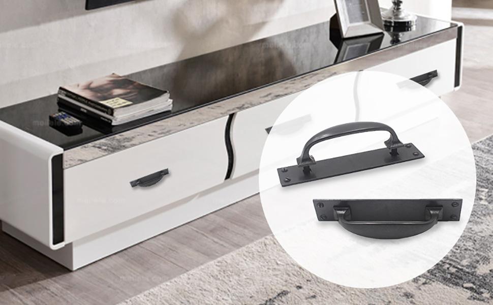 Hoone -Find Combination Handle For Stove Cabinet Furniture Hardware Zinc-3