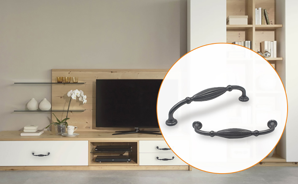 Hoone -Find Furniture Pull Handles Handles For Wardrobes And Drawers-3