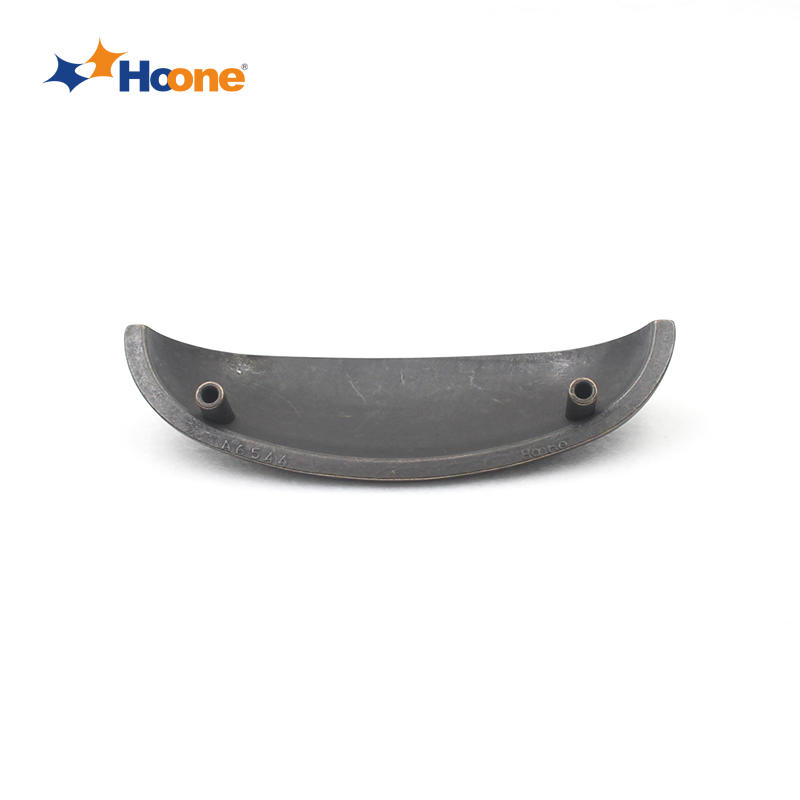 Ear shaped cabinet handle for kicthen furniture hardware zinc alloy A6544