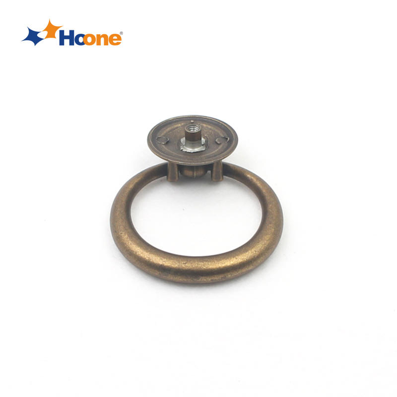 Ring-pull handle furniture hardware zinc alloy A1780L