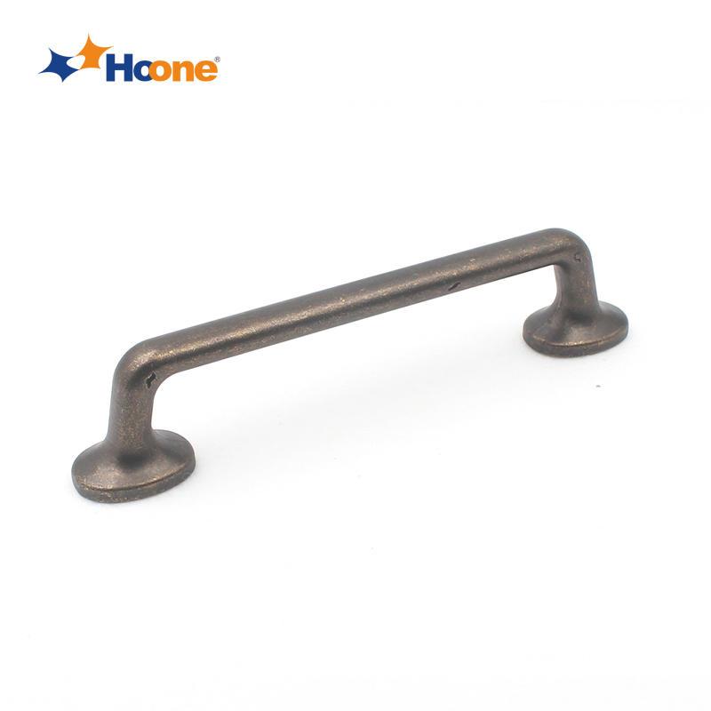 Dark antique brass for wardrobe furniture hardware zinc alloy A6641