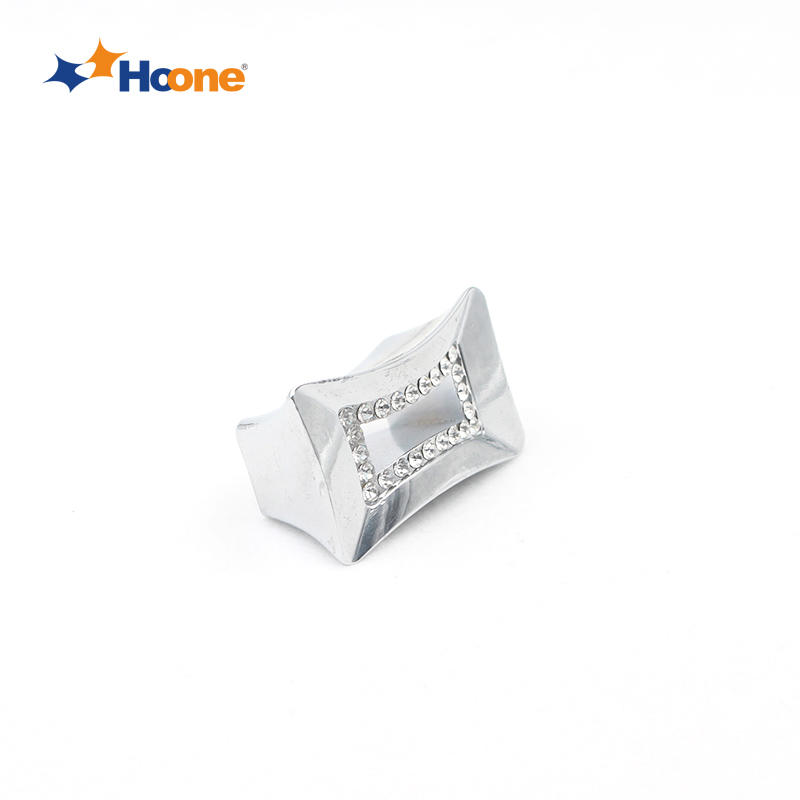 Crystal knob for drawer furniture handle zinc alloy A10183