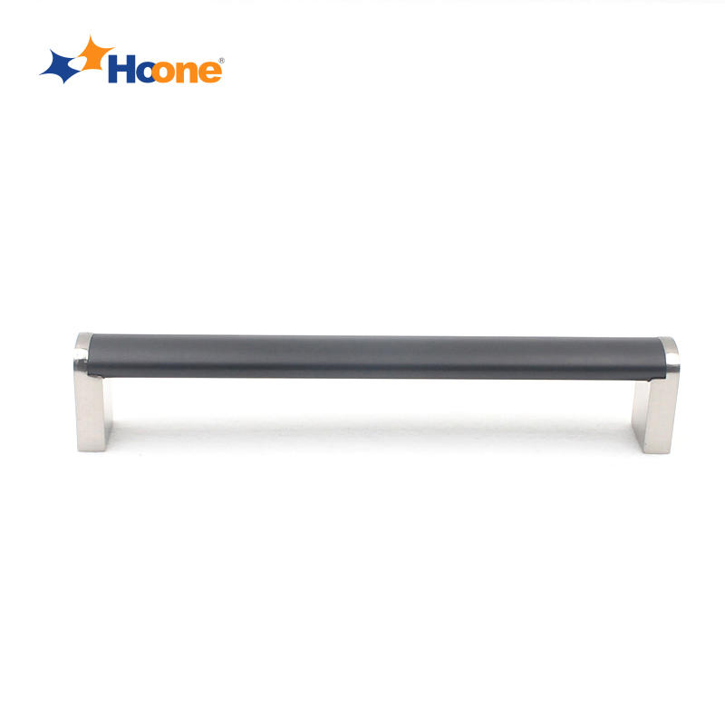 Europe quality kitchen drawer handle furniture hardware zinc alloy and steel stainless A7201