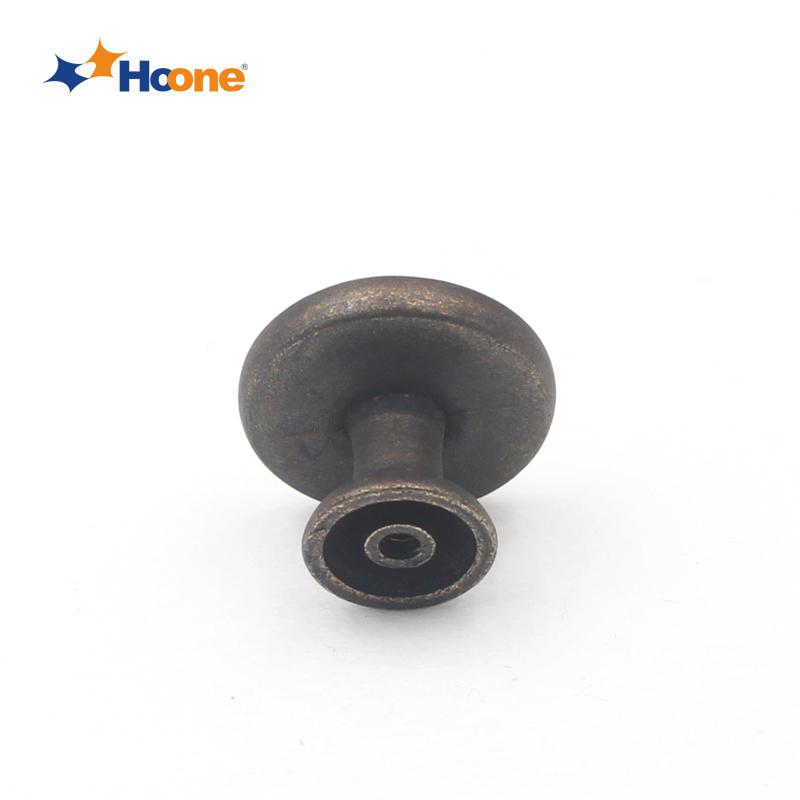 Single hole drawer knob furniture hardware zinc alloy A5559