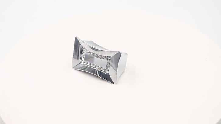 Crystal knob for drawer furniture handle zinc alloy A10183 video