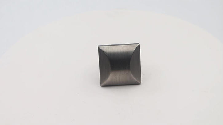 Square knob for drawer furniture hardware zinc alloy A5129 video