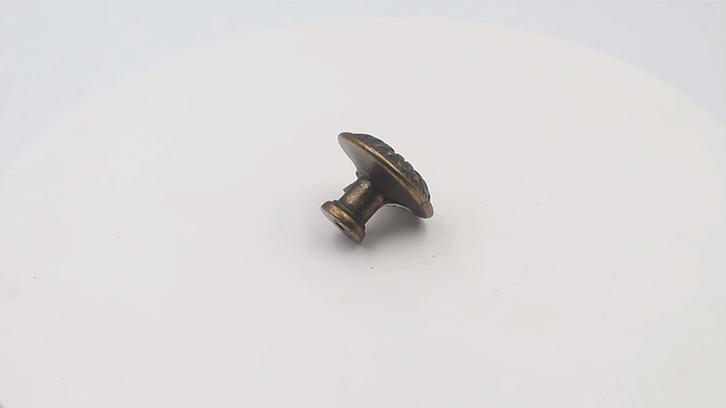 Unique drawer knob furniture hardware zinc alloy A6499 video