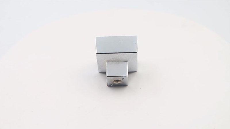 Contemporary Square cabinet knob furniture hardware zinc alloy A7029 video