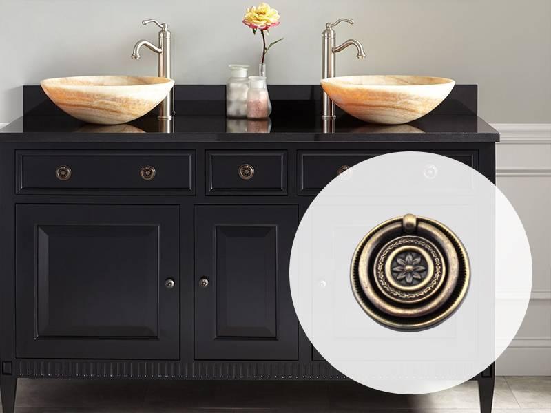 A6603 Zinc Alloy Furniture hardware drawer handle-USA